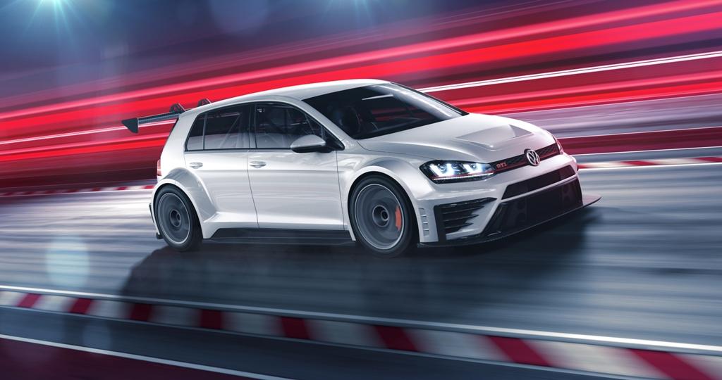 La VW Golf GTI GTR, aggressiva e potente