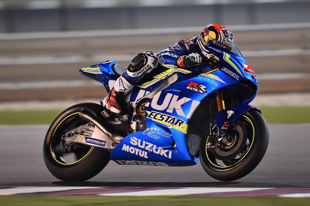 Michelin MotoGP, Suzuki GSX-RR 2016 test Qatar