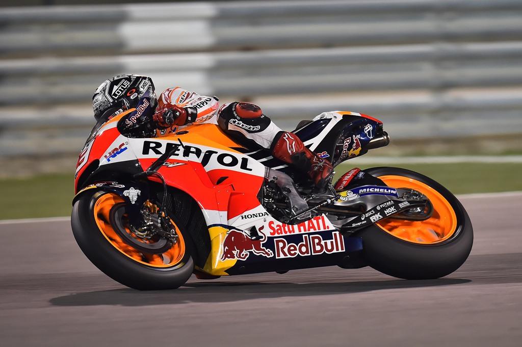 MotoGP, Michelim 2016 Qatar test Honda