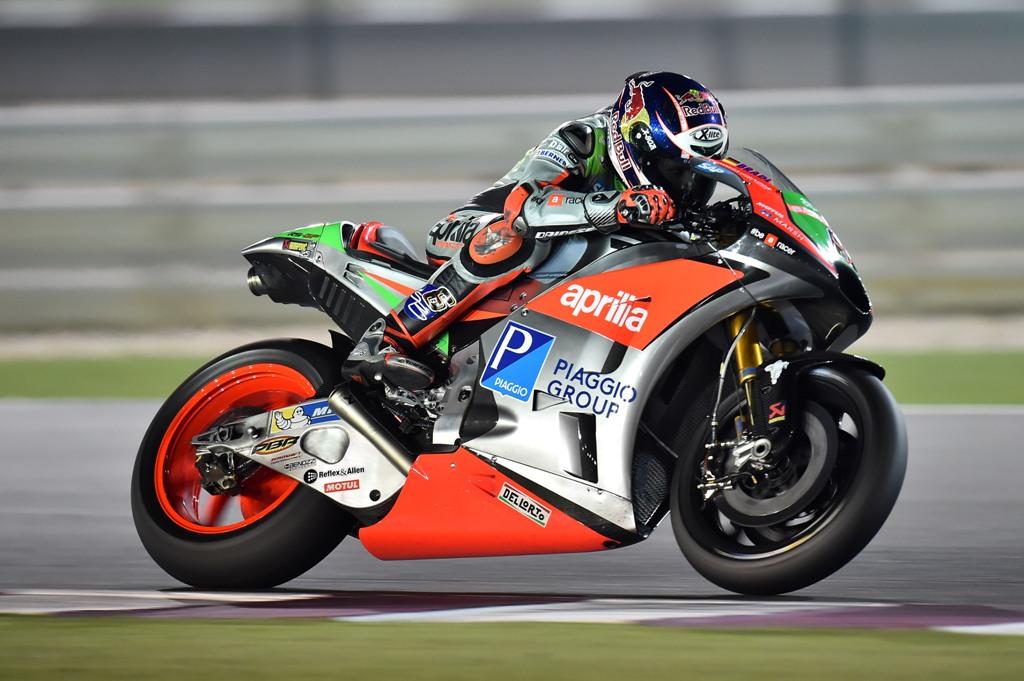 MotoGP 2016, test Qatar Michelin, Aprilia RS.GP
