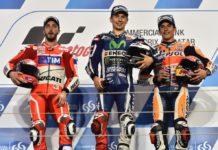MotoGP Qatar 2016, il podio