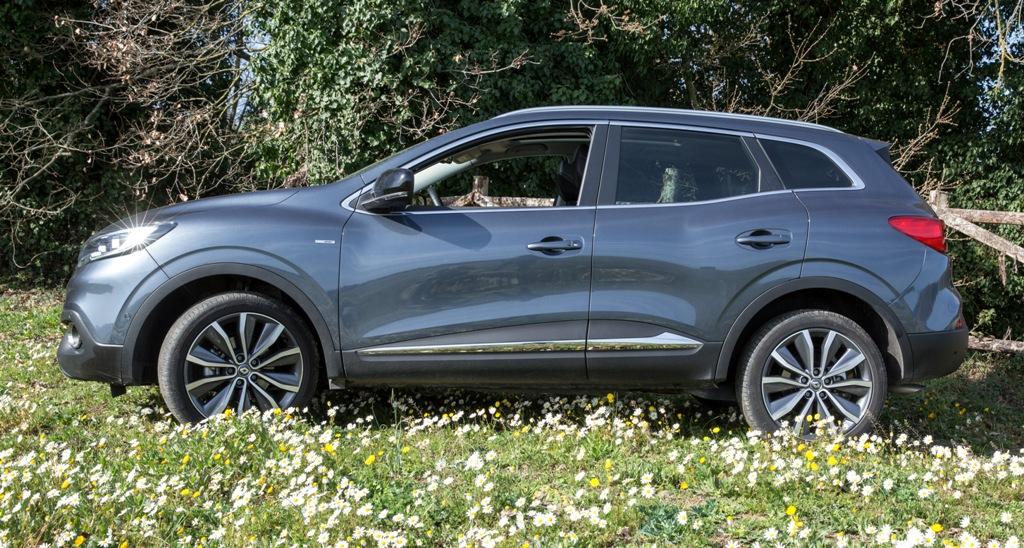 Renault Kadjar, design laterale molto azzeccato