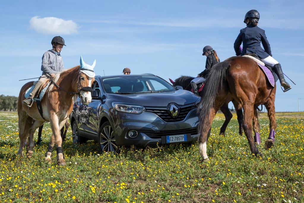 Veio Trec e Renault Kadjar 4x4