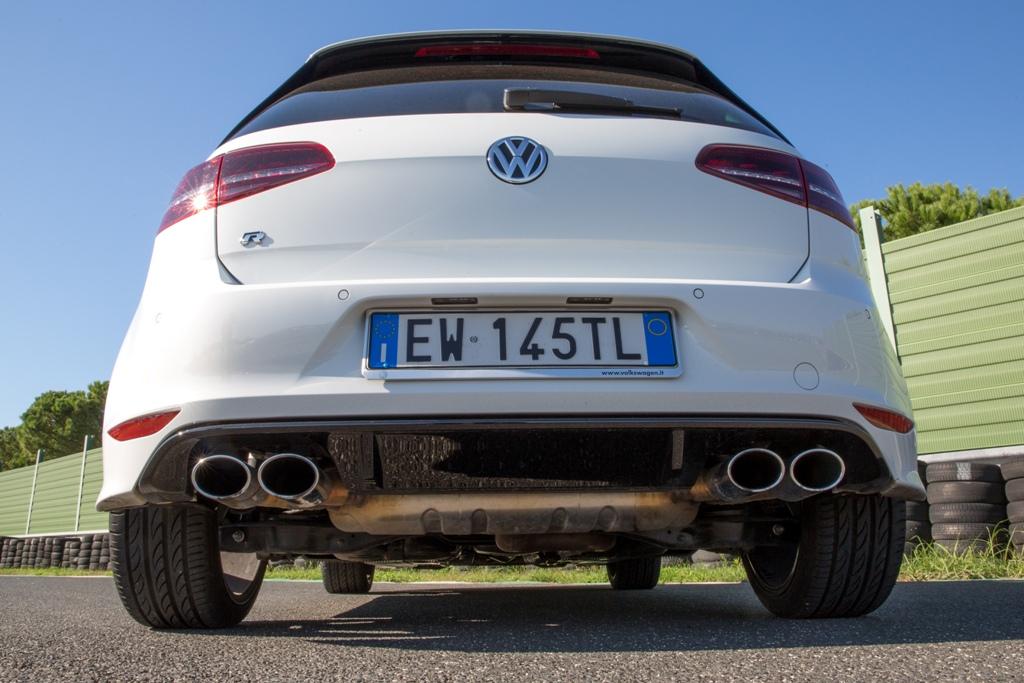 Golf R VW, anche la zona posteriore è molto aggressiva