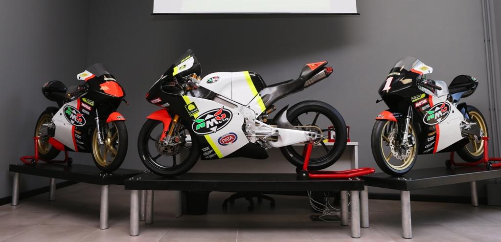 RMU Racing è impegnata anche nella PreMoto3 che nella Moto3