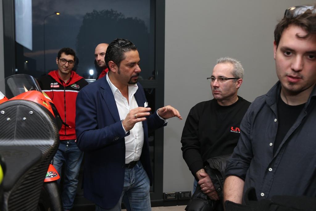 RMU Racing 2016 , Alessandro Ruozi (sx della foto)