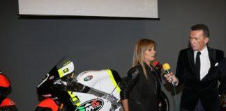 Ramona Gattamelati RMU Racing e Stefano Bergonzini voce della serata
