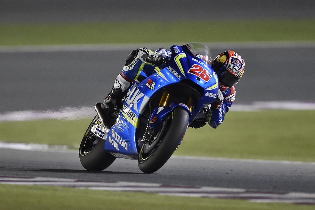 MotoGP 2016, Qatar, Maveric Vinales in gara
