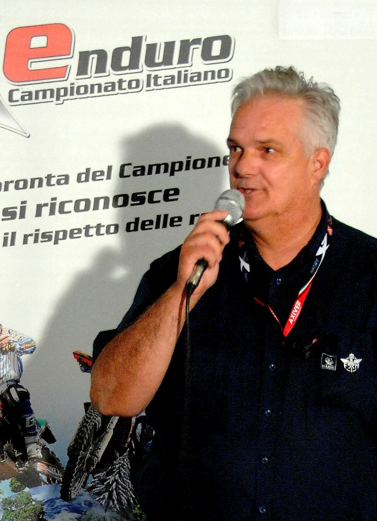 Tony Mori, Organizzatore dell'Italiano Enduro