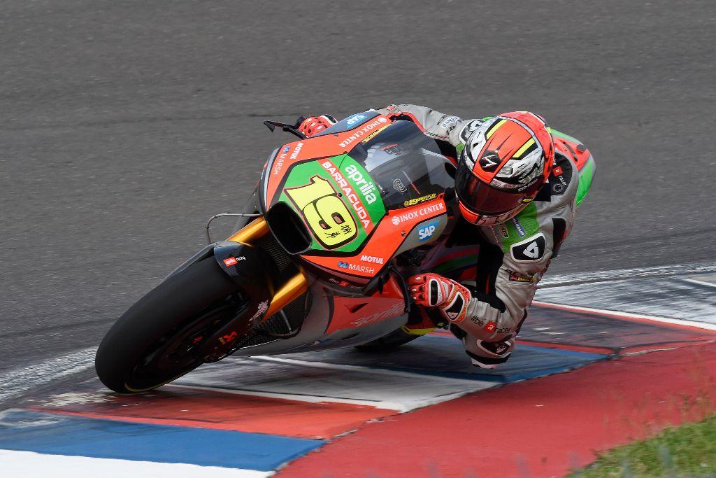 Aprilia Racing, MotoGP 2016 Argentina, Bradl settimo
