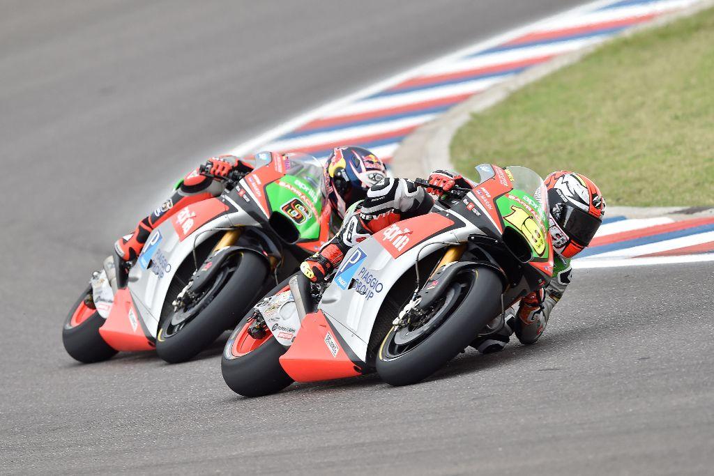 MotoGP 2016, Aprilia Racing