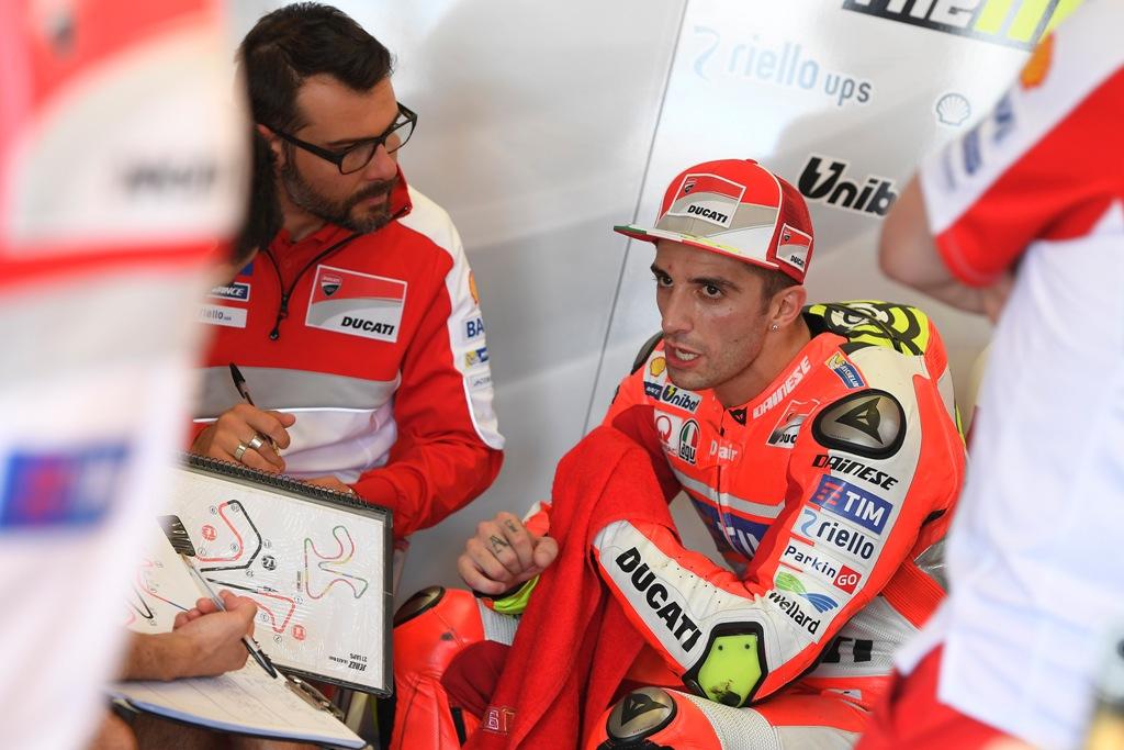 Andrea Iannone solo 7° a Jerez