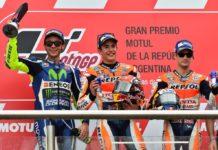 MotoGP 2016, podio argentina