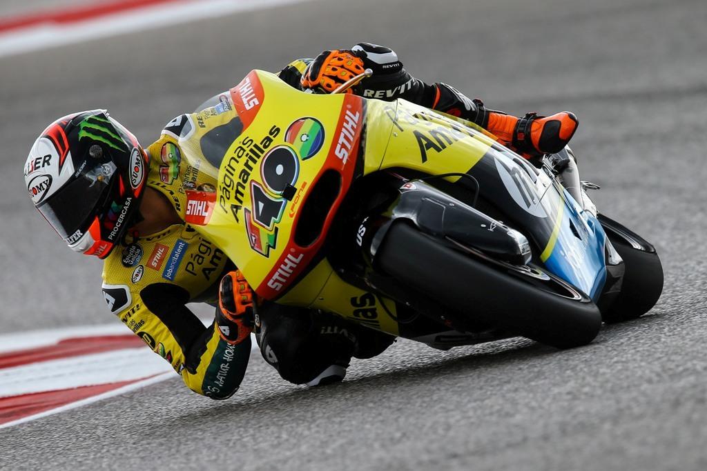 Alex Rins, Moto2. tutte le moto sono motorizzate Honda