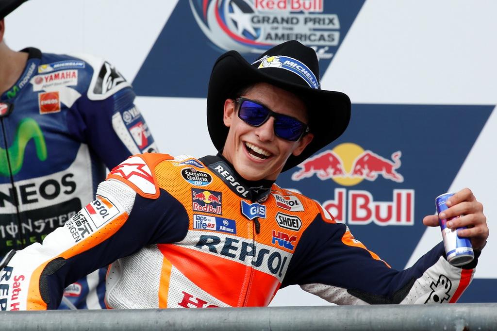 MotoGP, Marquez vince in Texas