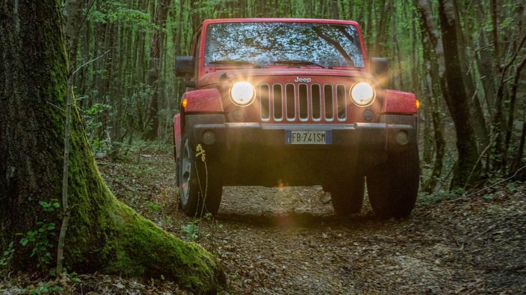 Jeep Wrangler Sahara, la fine del nostro test nel sottobosco sabino