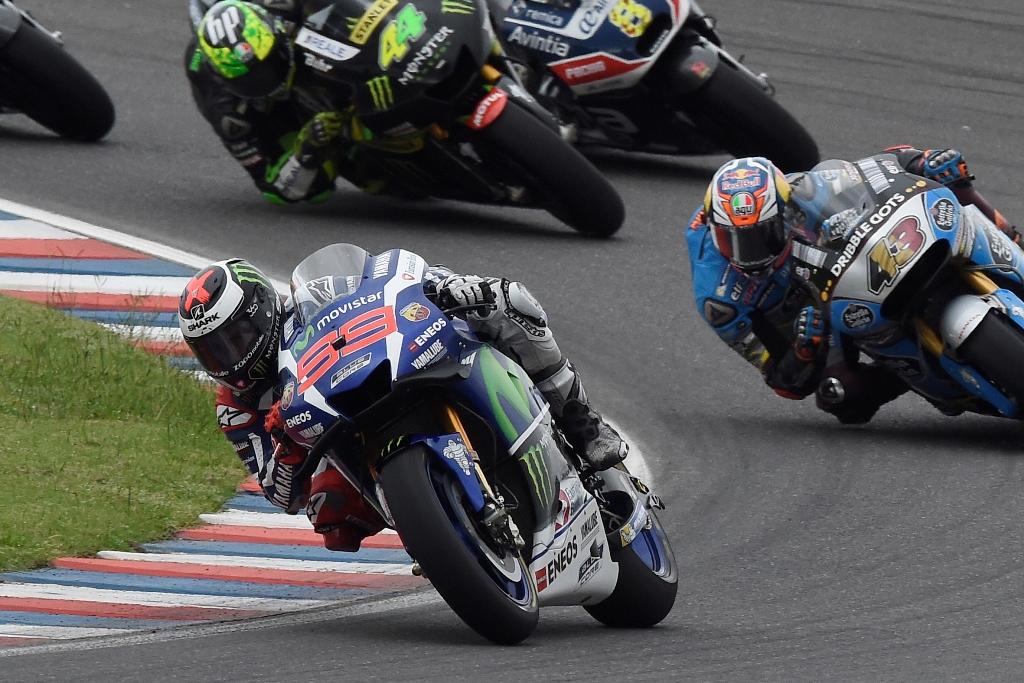 MotoGP 2016, Argentina, Lorenzo out