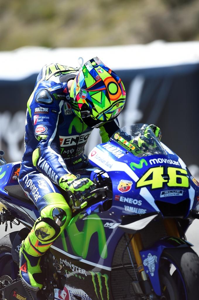 Valentino Rossi e la sua M1