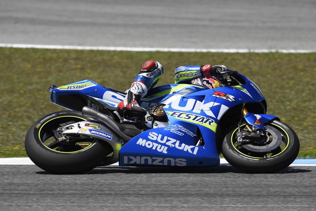 Un bel sesto posto per Vinales e la sua GSX-RR a Jerez