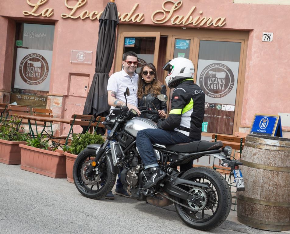 La Locanda Sabina ed i proprietari
