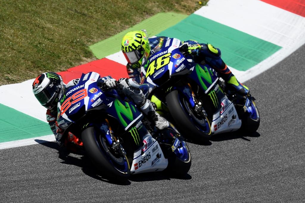 Lorenzo e Rossi in gara al Mugello
