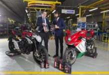 accordo Motul and MV Agusta 2016