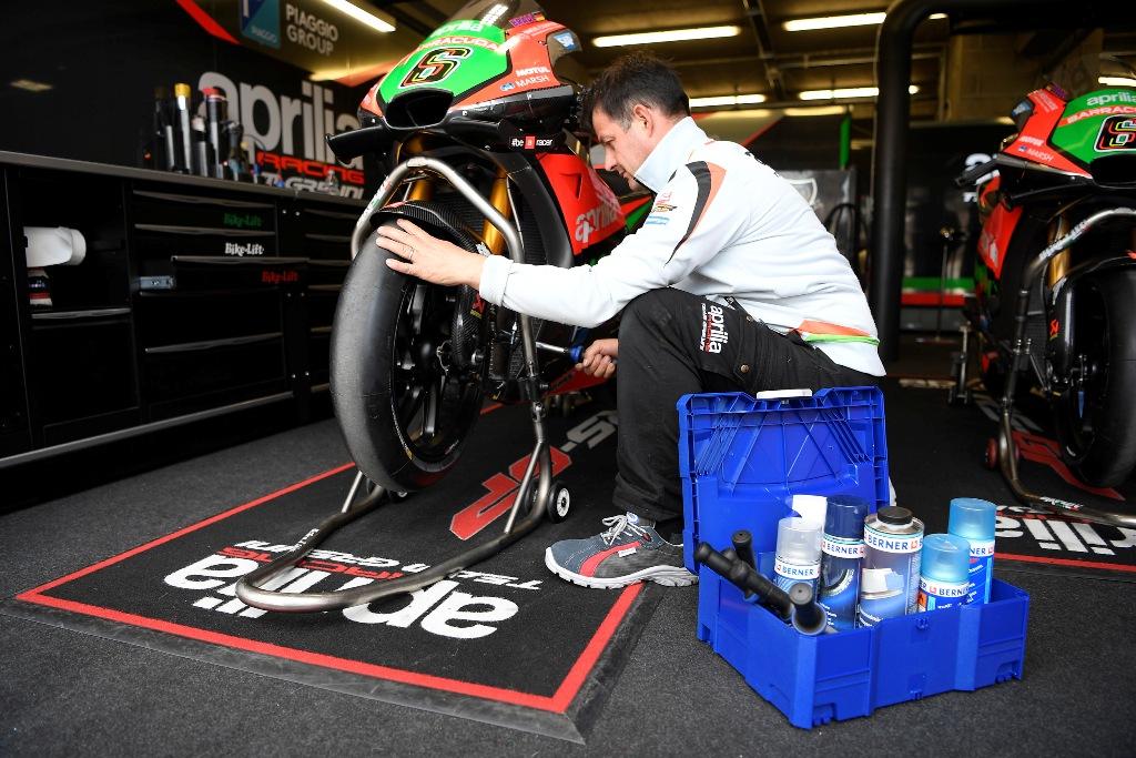 motogp aprilia RS-GP tecnico al lavoto