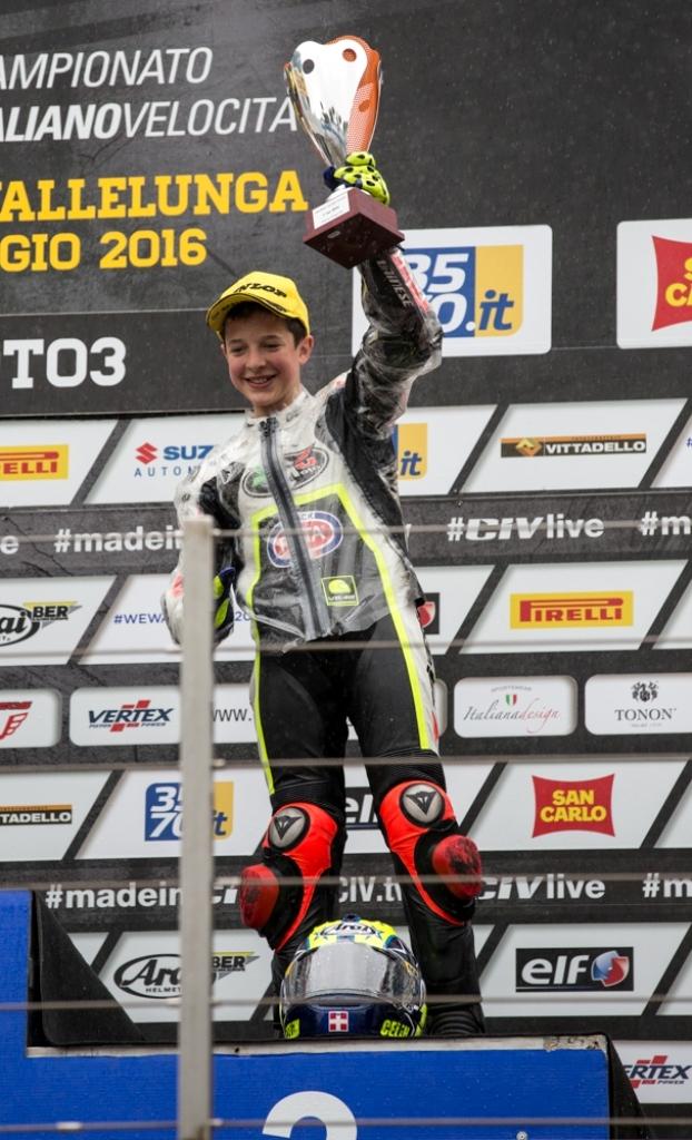 podio CIV 2016 Moto3