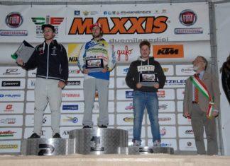 podio Giubettini Pievebovigliana