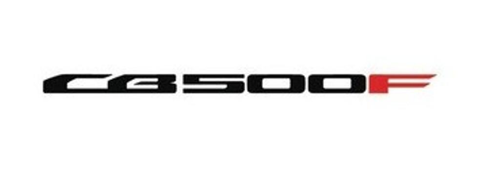 IL LOGO DELLA CB500F