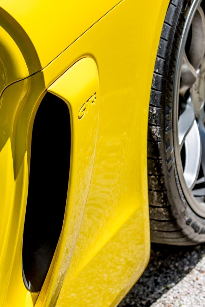 Cayman GT4, il dettaglio che fa differenza...
