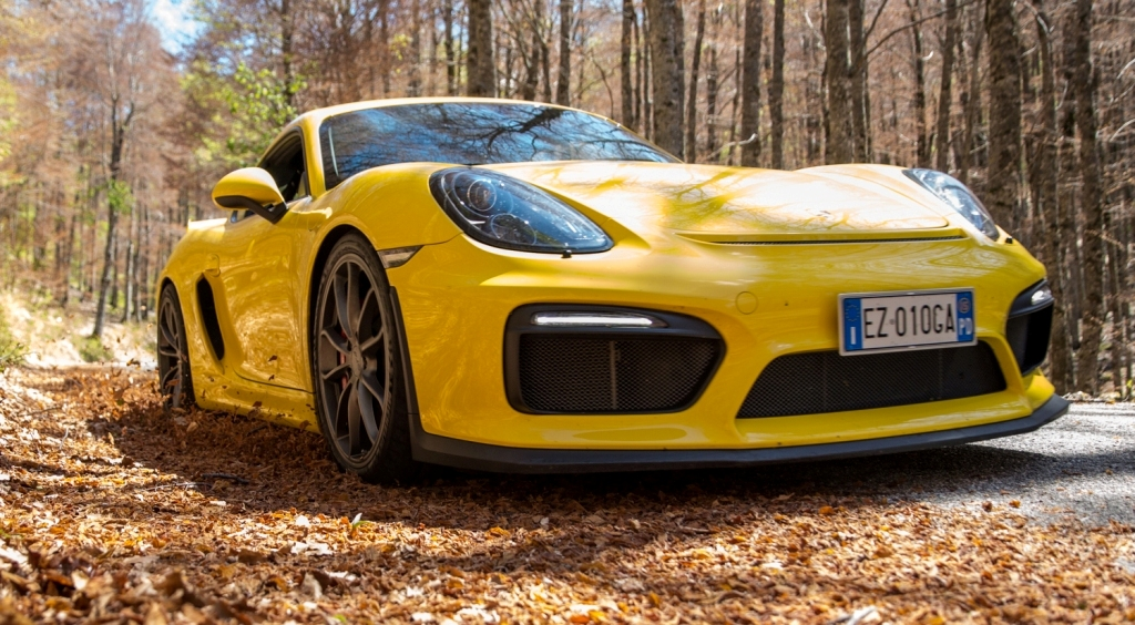 Porsche Cayman GT4 performancemag test