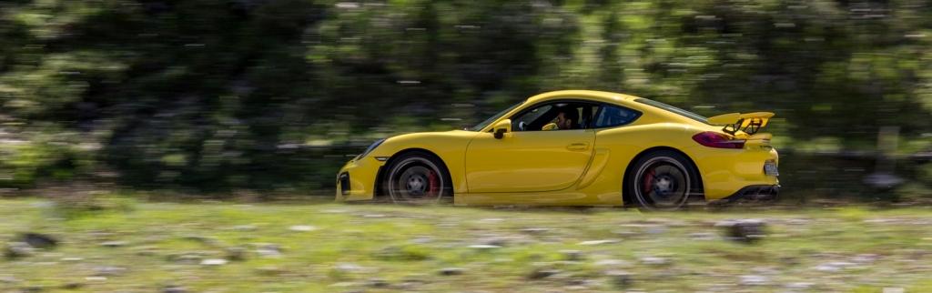 Cayman GT4, accelerazione per il 3.8 boxer Porsche