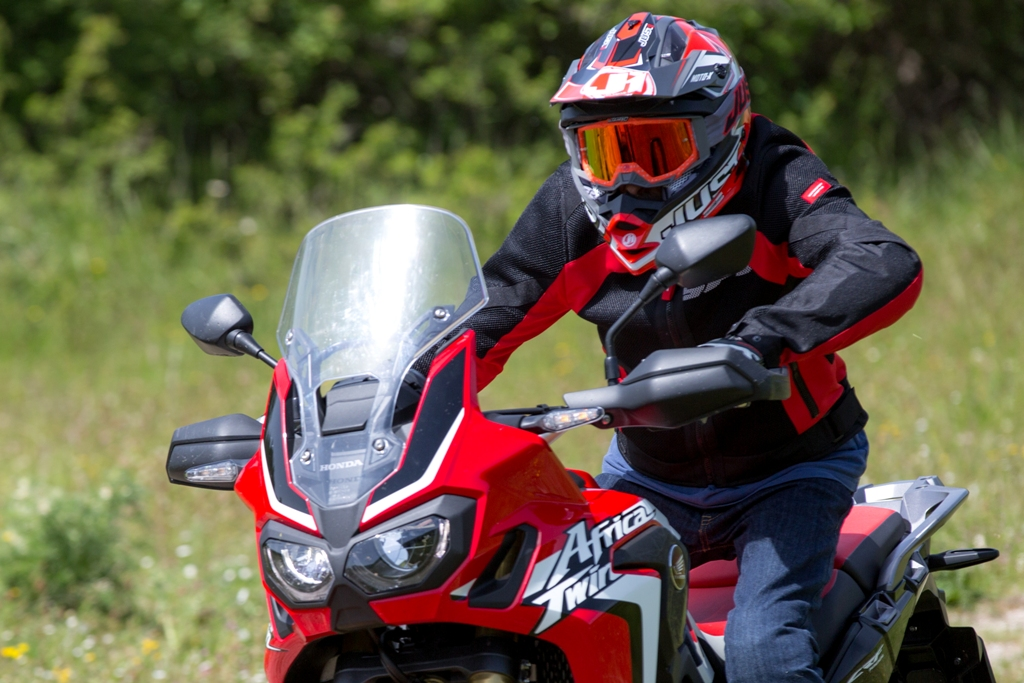 africa twin test 2016