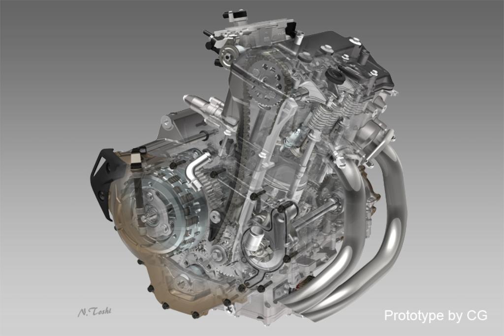 il,propislore da 998 cc della CRF1000L