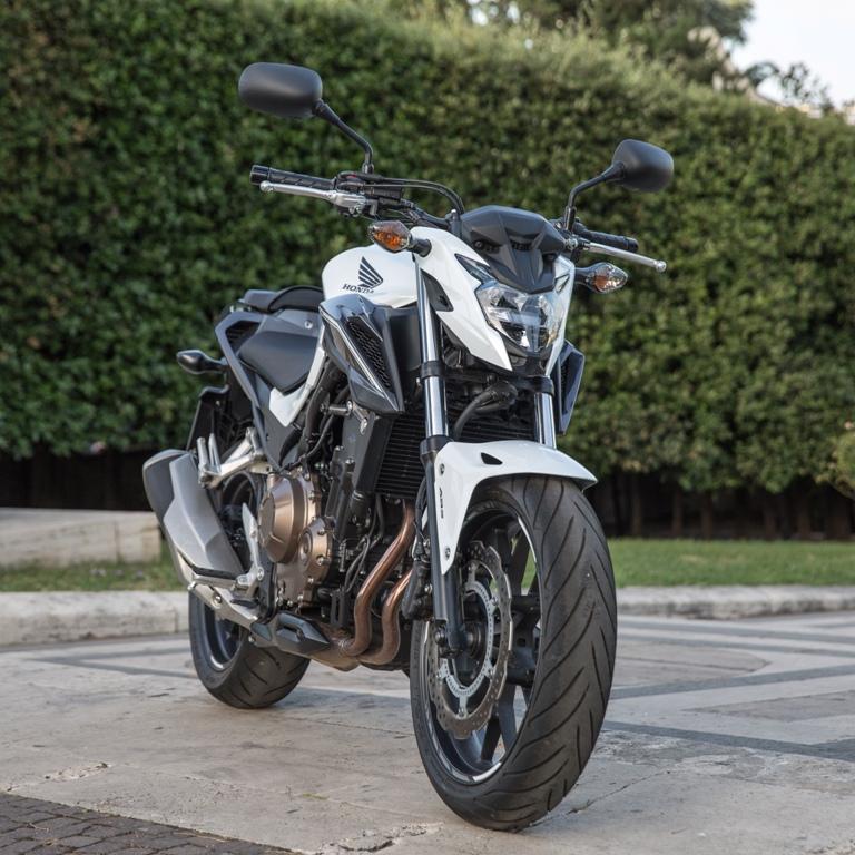 il nuovo restyling della Honda CB500F