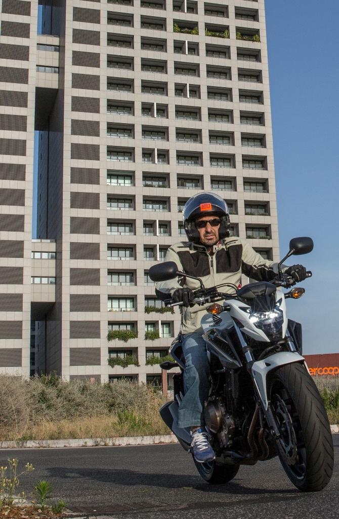 Honda CB500F, perfetta in città...