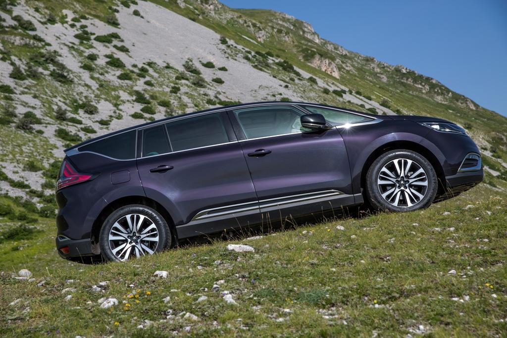 Espace Renault, design unico e massima abitabilità