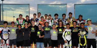 foto di gruppo per VR46 Master Camp 2016 the experience