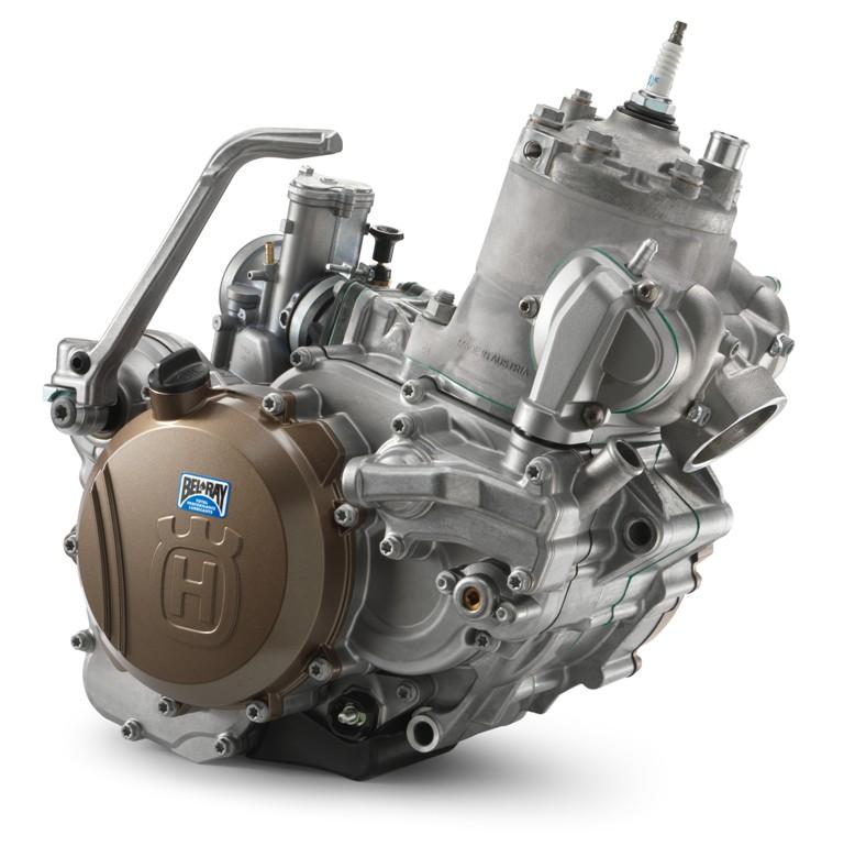 il nuovo motore della TE 300 2017