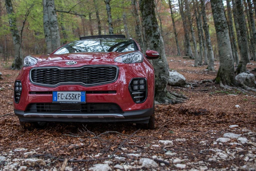 Una vera AWD la new Kia Sportage