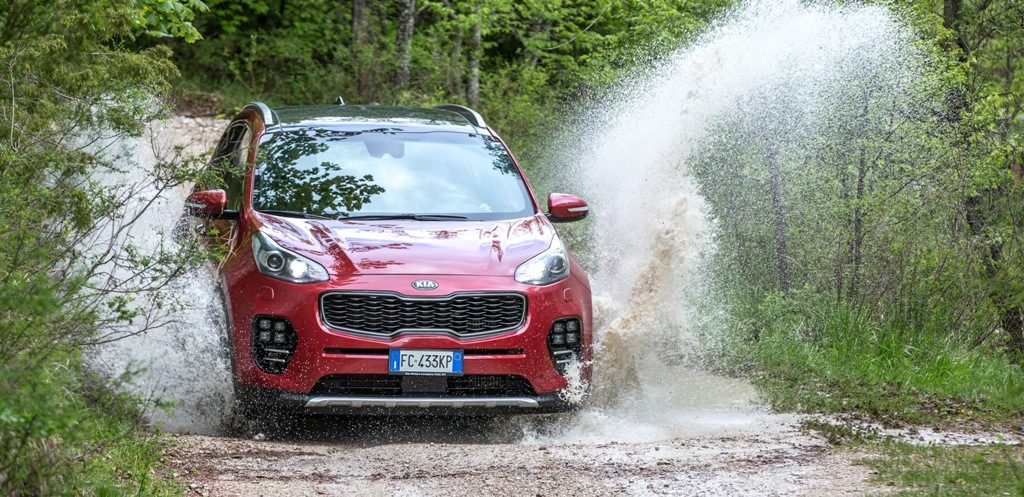 test Kia Sportage GT Line performancemag.it