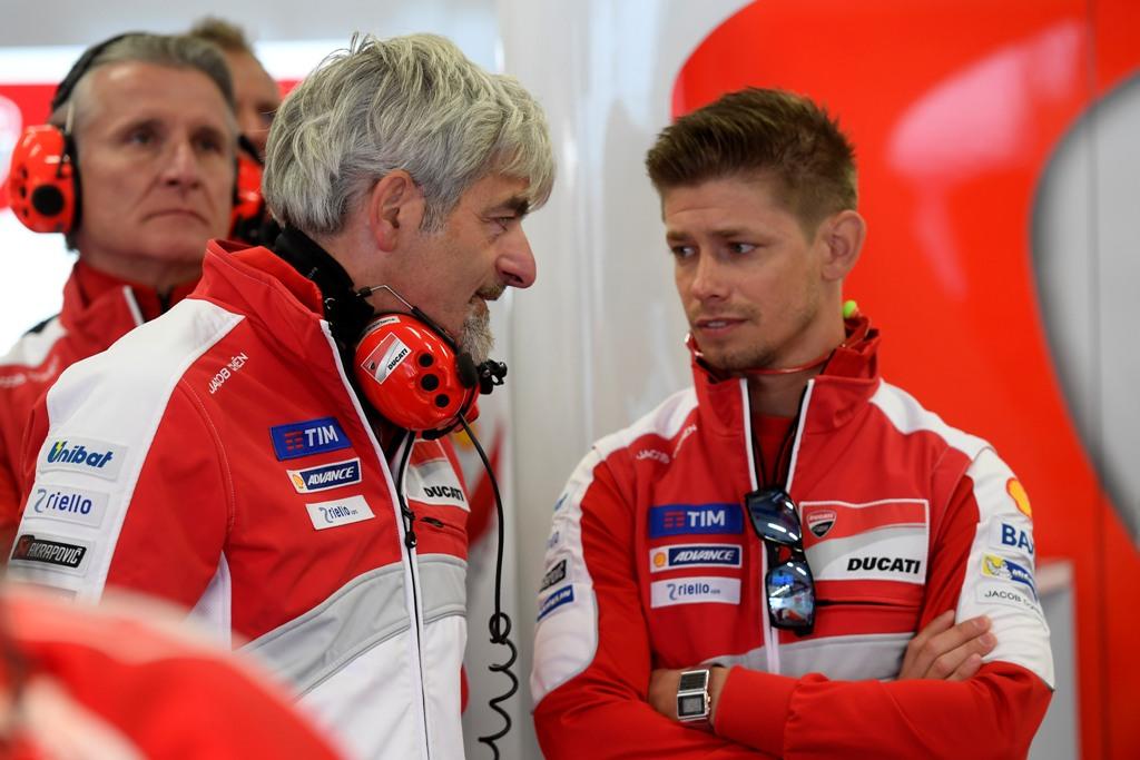 Dall'Igna e Stoner al box Ducati