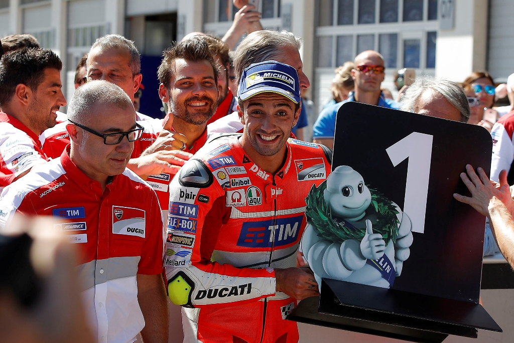 andrea iannone re del Red Bull Ring 2016