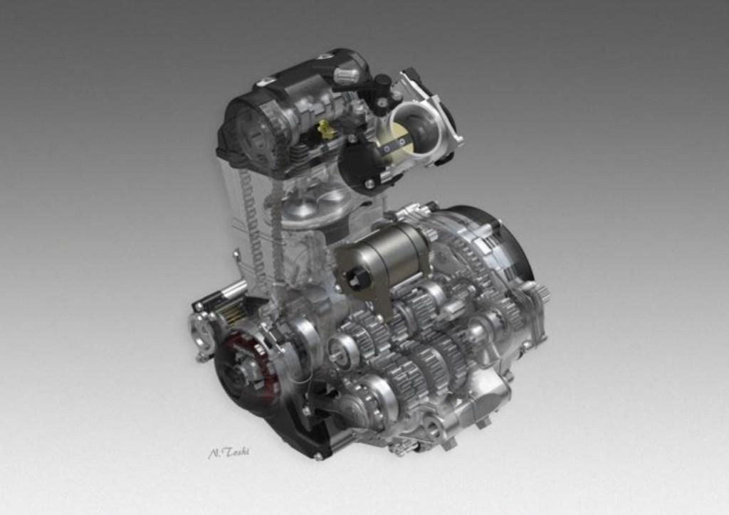 il motore della CRF450R/RX 2017
