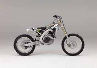 la Honda CRF450R/RX a nudo