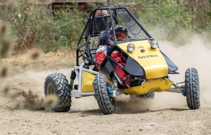 GO PRO Tavoni 500 cc, il limite del mezzo è alto anche esagerando...