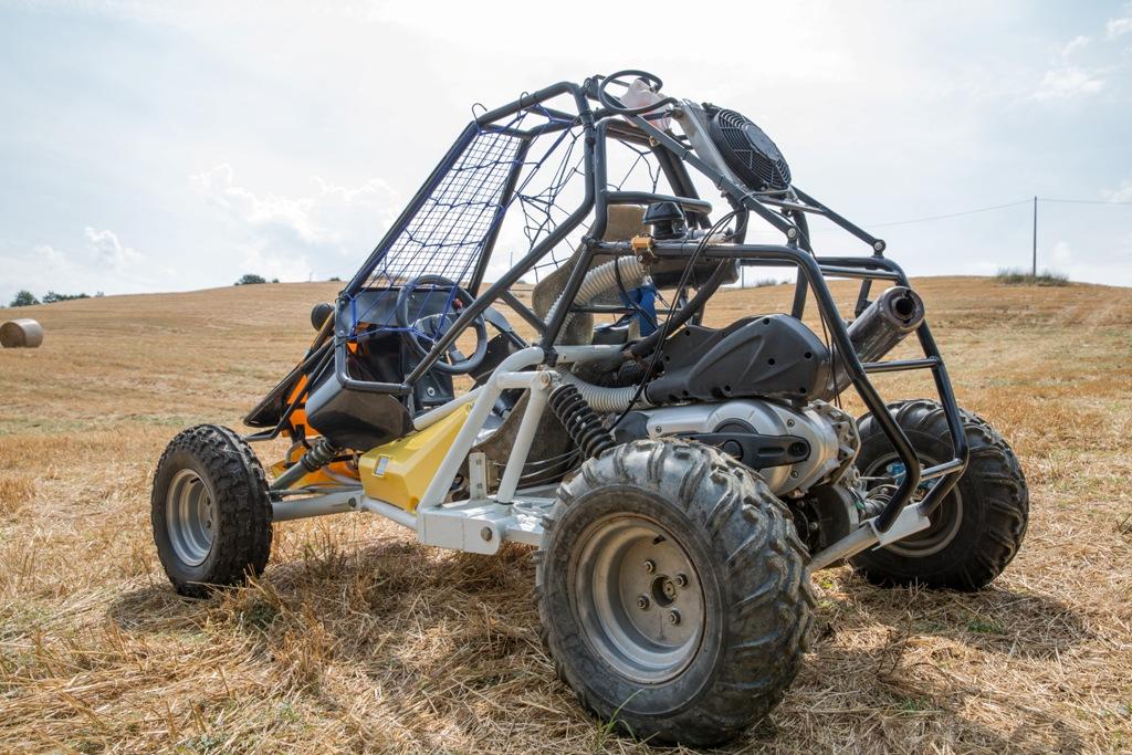 GO PRO Tavoni 500 test, il motore è Piaggio ad iniezione elettronica