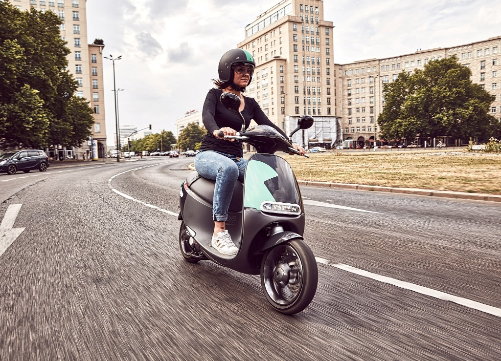 Coup e-scooter sharing by Bosch