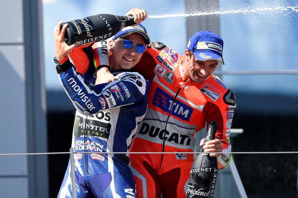 lorenzo e iannobe sul podio del Red Bull Ring 2016
